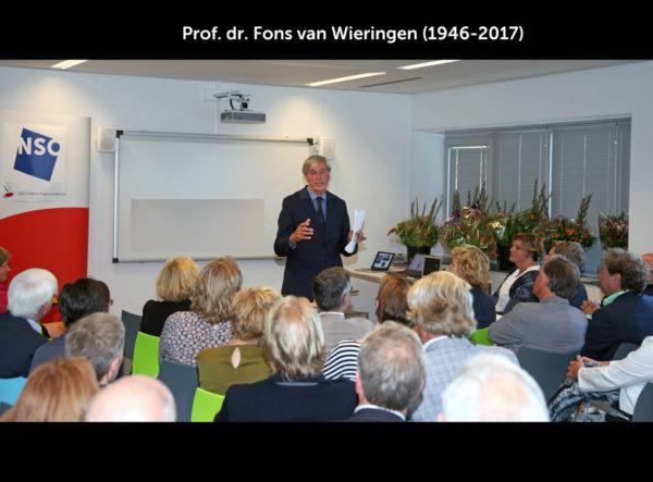 Fons van Wieringen opent NSO-CNA