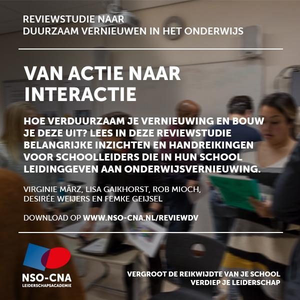 NRO Reviewstudie van actie naar interactie