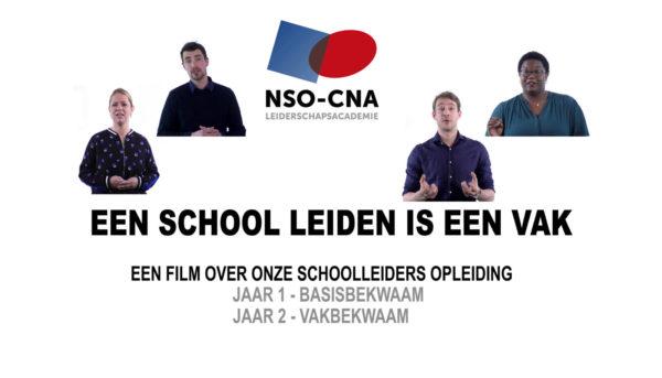 Film Schoolleidersopleiding NSO-CNA