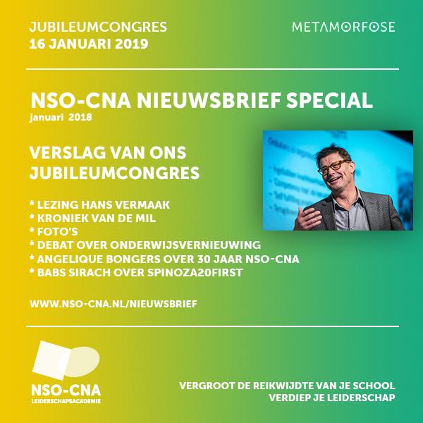 NSO-CNA Nieuwsbrief januari 2019