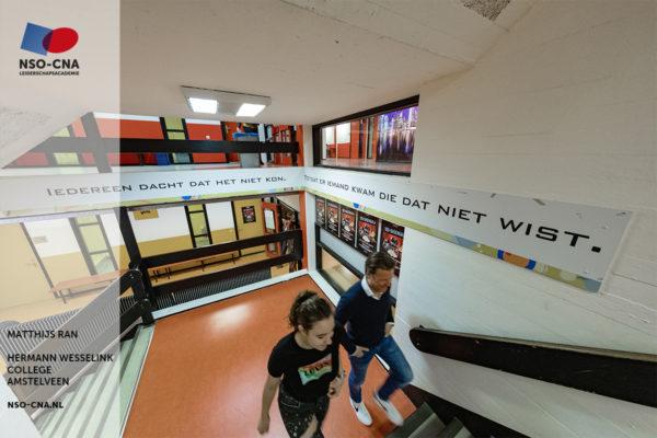 MAtthijs Ran, Hermann Wesselink College