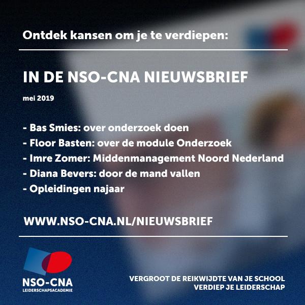 NSO-CNA Nieuwsbrief mei 2019