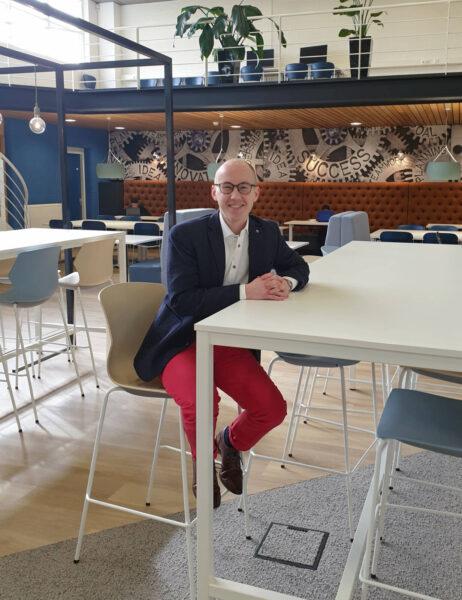 Philip de Vries op school
